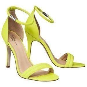 Pranks Gurung for Target Neon Heels 8.5
